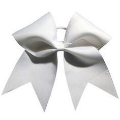Chosen Bows: Big Classic White Cheer Bow