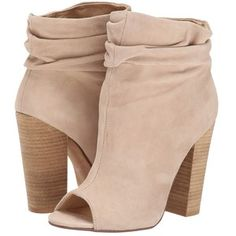 Kristin Cavallari Laurel Slouch Bootie (New Nude Kid Suede) Women's Dress Pull-on Boots