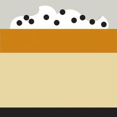 Trendland, Food Sketch Collection: Salted Caramel Budino