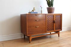 Mid Century Modern Lane Perception Credenza- Would be great for my record collection