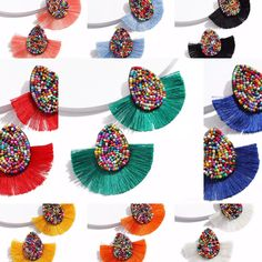 Lizzy's Abode was created out of a love for tropical travel fashion & accessories that make you feel like you are on holidays without going anywhere. Beaded Tassel Earrings, Travel Style, Tassels, Fashion Accessories, How Are You Feeling, Rainbow, Make It Yourself, Create, How To Make