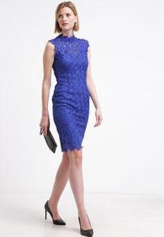 Paper Dolls - Zakelijke jurk - blue