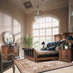 Sleigh Bed Bedroom Set - American Drew