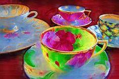 Дамы и чай Кэти Кларк фотография