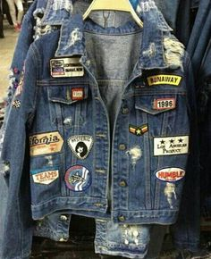 Patches on some kind of denim- that's the goal for this week.