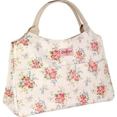 WANT! Cath Kidston Pinny Flowers Open Tote $105 {only thing keeping me from getting it now is I have a Fergi L'Italia bag which looks JUST like this that I got in Roma last summer :-/ }