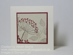 Summer Silhouettes au natural   Stamp Up Your Craft