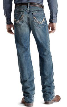 Ariat® M2 Linked Medium Wash Boot Cut Jean