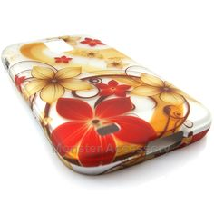 The vanilla flowers hard case snap on cover for the Samsung Galaxy S2 Hercules T-Mobile is a great stylish cover case made with Grade A Abs plastic. It protects your phone from scratches and scuffs and is very affordable. Also there are many other designs available. Order today and we will ship the same business day!