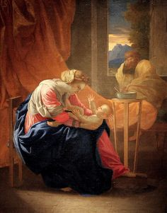 Nicolas Poussin. The Holy Family, 1641