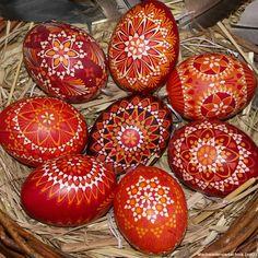 Werkstatt für Sorbische Ostereier (Lübbenau Spreewald) - Sorbische Eier - Beisspielfotos Sorbische Ostereier