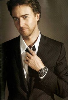 I don't have anything to prove to anybody, which is a lovely place to be.- Edward Norton.