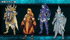 Monster Hunter 4 Ultimate Concept art Shows off Monsters, Weapons, Levels, and more | PLAYERESSENCE