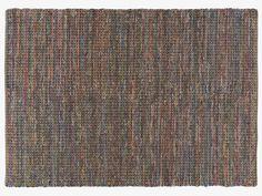 HARROW MULTI-COLOURED Cotton Large multi-coloured cotton rug 170 x 240cm - HabitatUK