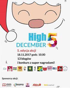 Akcja High 5! Przybij piątkę z blogującymi anglistkami coraz bliżej. W tej edycji będziemy pomagać Mikołajowi rozdawać prezenty 😊  #high5_przybijpiątkę #konkurs #eslteaching #akcjablogowa #teachersofinstagram #christmasiscoming #comingsoon
