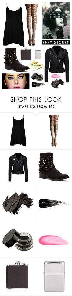 Effy Stonem by cheyennebrunner on Polyvore featuring WearAll, Forever New, Allegra K, Penny Loves Kenny, Bobbi Brown Cosmetics, Urban Decay, Benefit, Kikkerland and Effy Jewelry