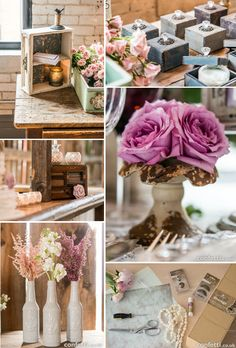 Top 10 Vintage Wedding Decorations - Best Wedding Ideas and Inspiration Vintage Glamour Wedding, Vintage Wedding Theme, Rustic Wedding, Vintage Weddings, Vintage Wedding Centerpieces, Wedding Table, Wedding Decorations, Bodas Shabby Chic, Country House Wedding Venues