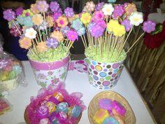Las que no pueden faltar....mis flores!!