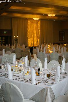 Weddings at Trim Castle Hotel. Wedding photography by PK Hotel Reception, Reception Rooms, Irish Wedding, Photography Services, Wedding Venues, Table Settings, Castle, Wedding Photography, Weddings