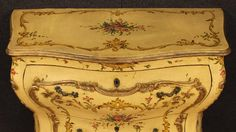20th Century Lacquered and Gilded Commode 3