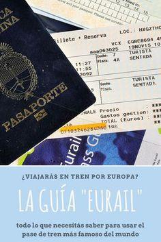 Viajar por Europa en tren es espectacular, y aquí te dejo la guía para usar el pase EURAIL... ¿lo has usado alguna vez?