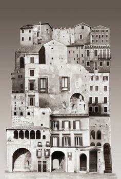 Gallery of The Spirit of Cities Captured in Collage - 11