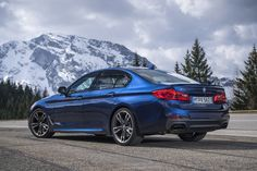 The exterior of the new BMW xDrive boldly expresses the sedan's dynamic performance capab. Bmw 320d, Audi, Bmw Australia, 2017 Bmw, Bmw Models, Car Posters, Poster Poster, Sport Seats, Bmw 5 Series
