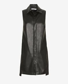 Bailey 44 EXCLUSIVE Leather-Like Shirtdress