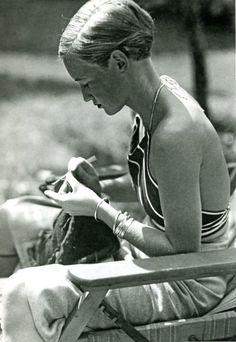 Ruth von Morgen, Berlin, 1934 by Marianne Breslauer