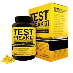 Pharma Freak - Test Freak, einer der stärksten legalen Testosteron Booster, wieder bei Supp4U auf Lager.  PharmaFreak Technologies Test Freak 120 Kapseln