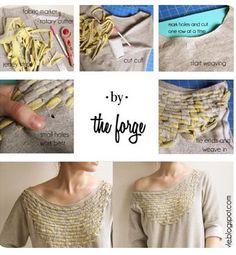woven pattern sweatshirt