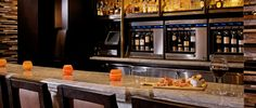 ENTYSE, Wine Bar & Lounge at The Ritz-Carlton, Tysons Corner - where the fusion of food, wine and ambiance is complete.