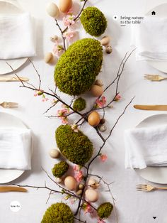 "I saw this in ""Hatching Inspiration"" in Martha Stewart Living April 2014."