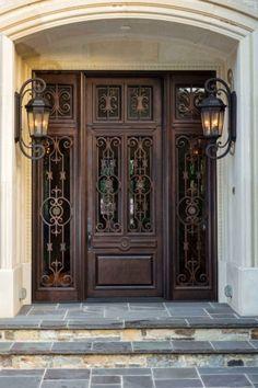 Showcase of Wrought Iron Door | Custom Designed Iron Doors | Bronze Doorways | Wine Cellar Doors | Clark Hall Iron Doors Charlotte, NC