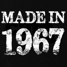 Made In 1967 Birthday Maternity Dark T-Shirt
