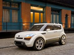 2006 Kia Soul Concept - Front And Side - 1024x768 - Wallpaper