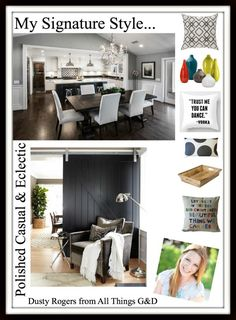 "Blogger Signature Style Series - Blogger Dusty Rogers from All Things G&D shares her ""Polished Casual & Eclectic"" style! 