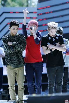 yongguk & himchan & zelo >>> ...