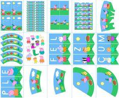 Foto y Diseño: POSTREADICCIÓN. Impresión y recorte aquí:  http://articulo.mercadolibre.com.ar/MLA-602428881-cumpleanos-peppa-pig-kit-deco-impresion-y-recorte-_JM