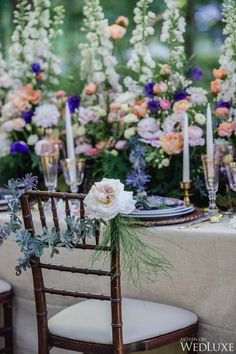 WedLuxe– Woodland Nymph   Photography by: Krista Fox Photography Follow @WedLuxe for more wedding inspiration!