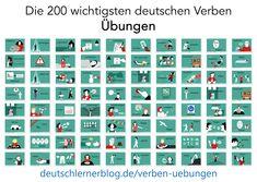 Quiz, Learn German, Periodic Table, Writing, Education, Learning, Study Tips, Fotografia, Irregular Verbs