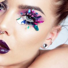 Dagens make-up Archives - Page 3 of 516 - Linda Hallberg Linda Hallberg, Crazy Makeup, Makeup Looks, Makeup Art, Beauty Makeup, Beauty Nails, Fixing Spray, Magical Makeup, My Makeup Collection