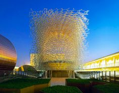 First look at Wolfgang Buttress' beehive-inspired UK Pavilion at 2015 Milan Expo | Inhabitat - Sustainable Design Innovation, Eco Architecture, Green Building