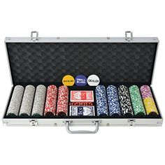 Playing poker with your friends is a popular pastime in every season. Simply opening the case will make you feel like you're in Las Vegas. Colour: MulticolourMaterial: Plastic and Las Vegas, Play S, Games To Play, Jouer Au Poker, Poker Set, Game Prices, Poker Games, Table Accessories, Crates