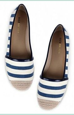 Striped Shoes - Sole Society
