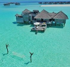 I want to take a holiday here at Gili Lankanfushi in the Maldives! Tag your vacation squad! Photo cred: by beforeidie Vacation Places, Vacation Destinations, Dream Vacations, Vacation Spots, Places To Travel, Places To Visit, Vacation Wear, Vacation Travel, Travel Goals