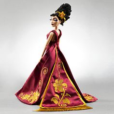 Mother Gothel Disney Villains Designer Collection Doll | Dolls | Disney Store - I have the Maleficent designer doll which I love.
