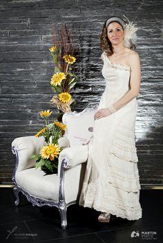 Vestido de Novia Monicci Modelo BADANPUR 100% algodón