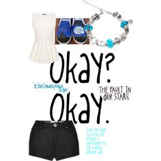 """""""The fault in our stars tribute"""" by livelaughloveiceskate on Polyvore"""