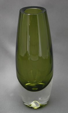 Glass vase, Lappi, Erkki Vesanto